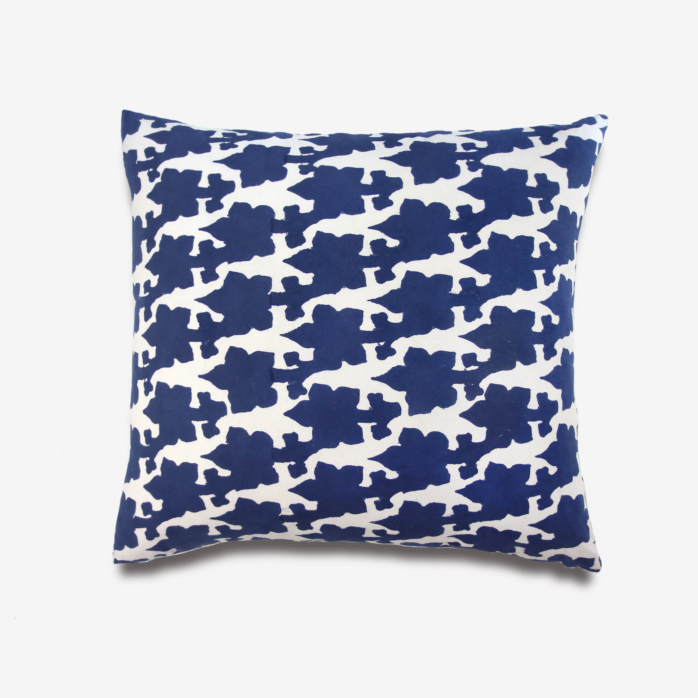 Chango & Co Blotch Floral Pillow