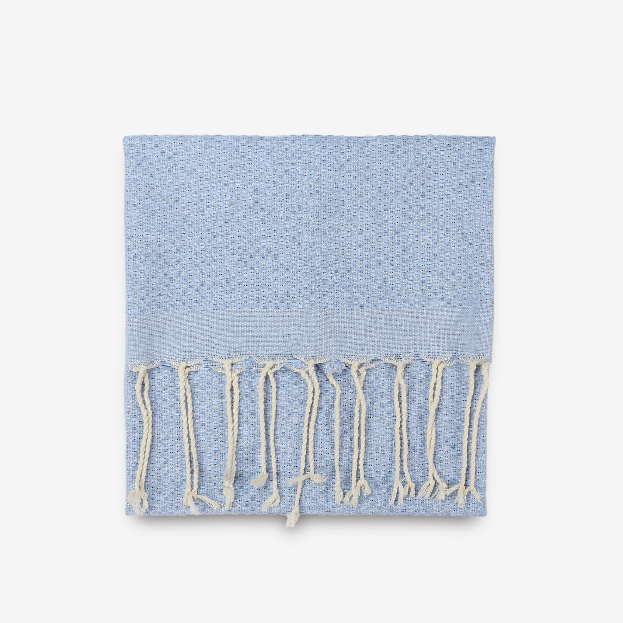 Solid Hand Towel in light blue