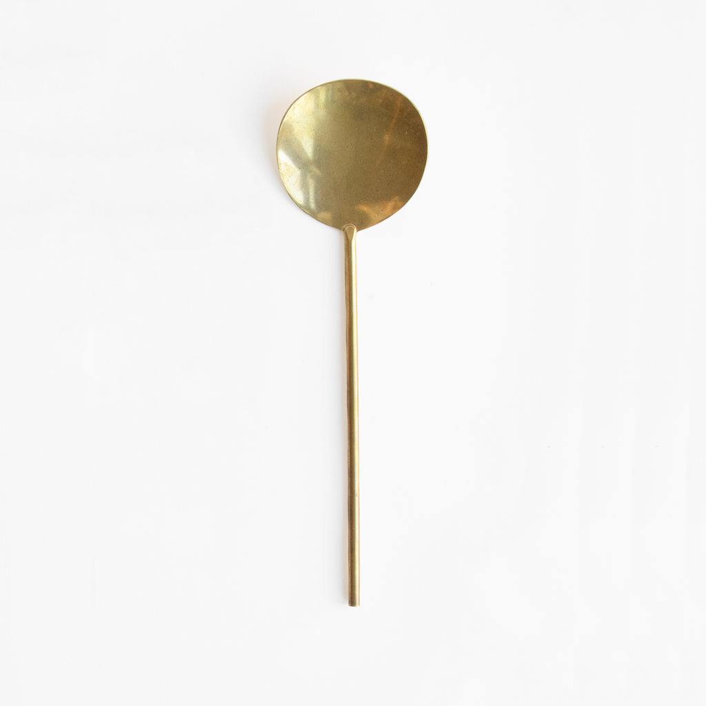 Japanese Brass Serving Spoon