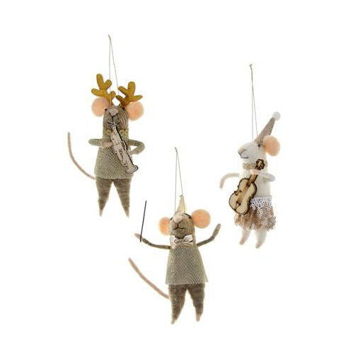 Musical Mice Ornament