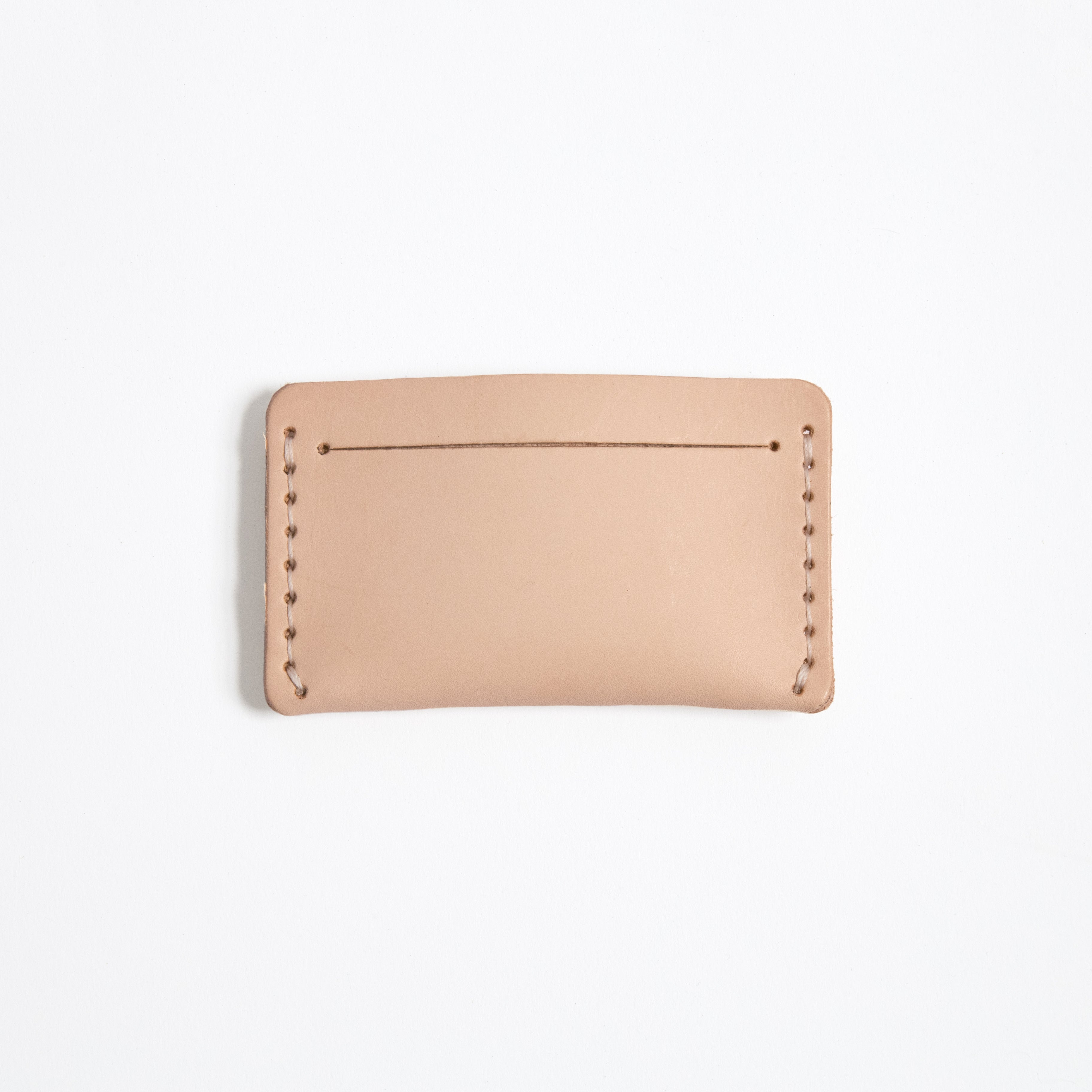 Natural Leather Card Case
