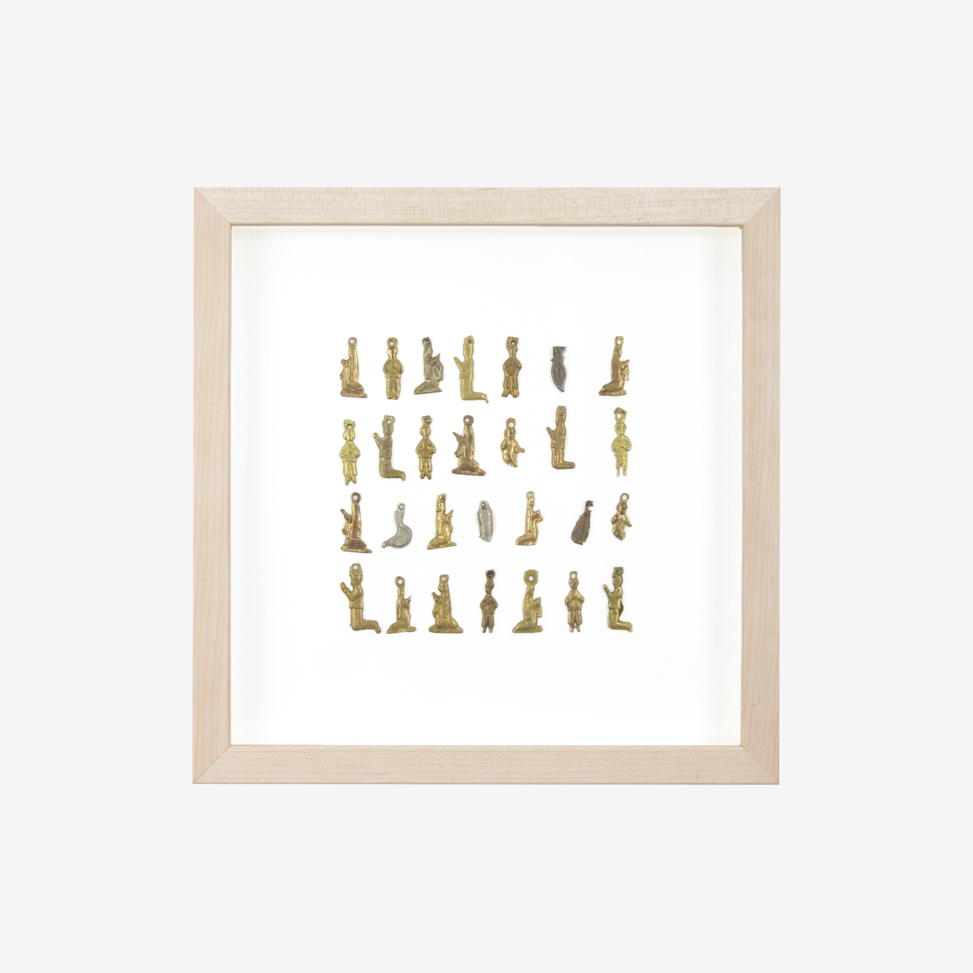 XSmall Figures Framed Ex Voto Art