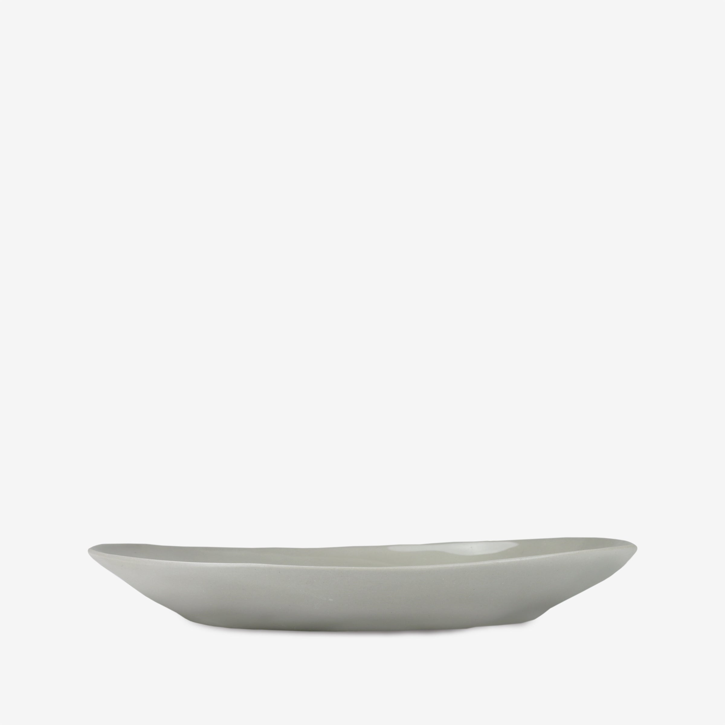 Stoneware Pasta Dish in Sterling Grey
