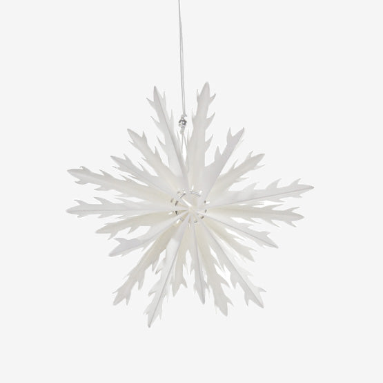 Geometric Snowflake Ornament