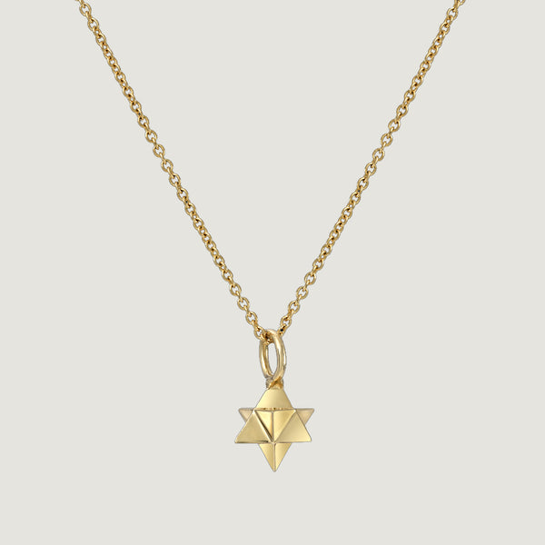 MINI MERKABA NECKLACE