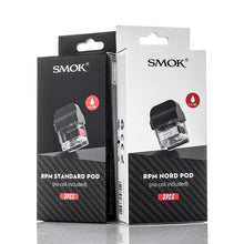 Load image into Gallery viewer, SMOK RPM40 Replacement Pod Cartridges 3 Pack