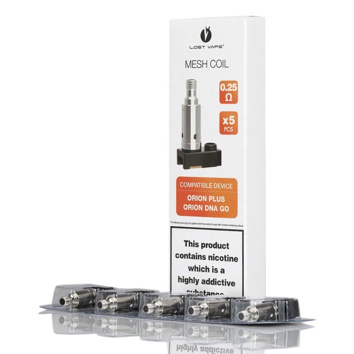 Lost Vape Orion Plus Replacement Coils 5PK