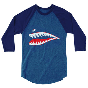Sharks Mouth Raglan