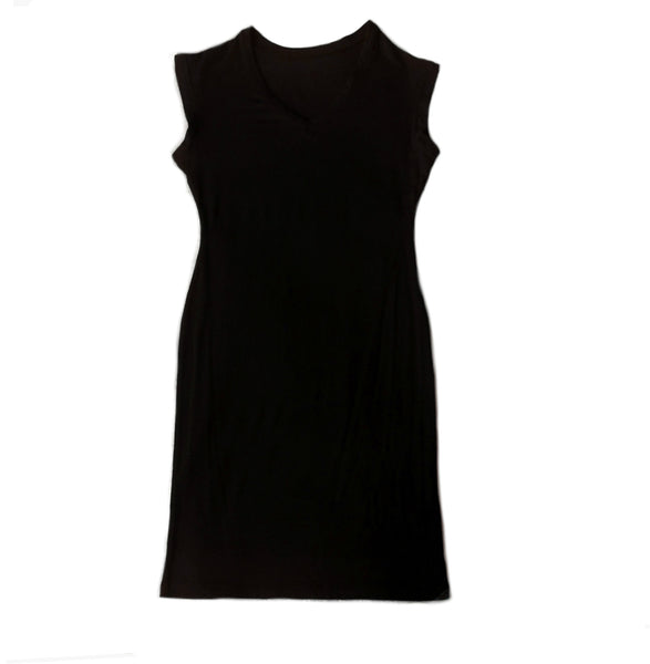 Lenzig Modal Dress in Black