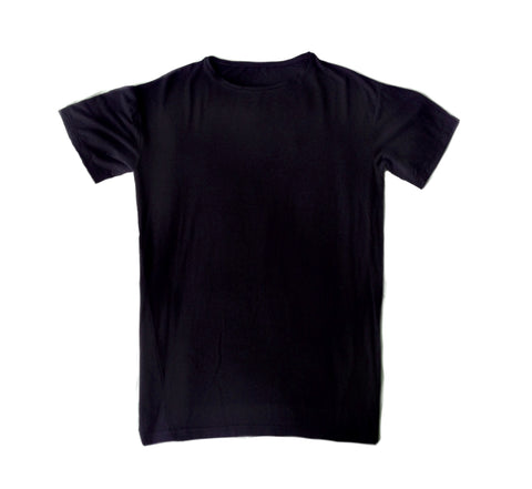 Men's Short Sleeve Lenzig Modal Shirt, Black