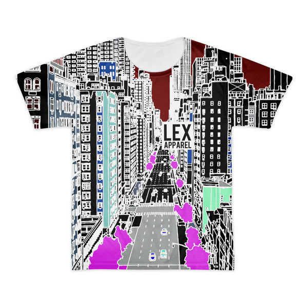 City Scene Tee, Inverted Colors