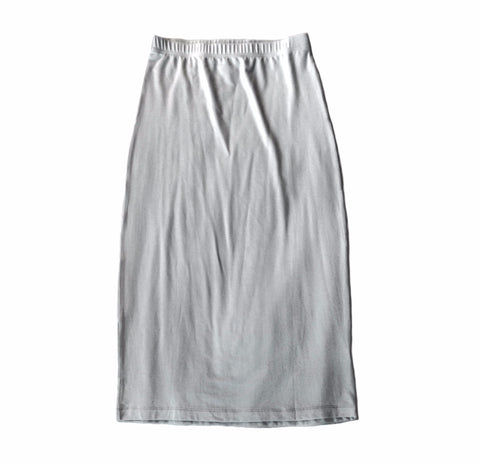 Modal-blend Midi Skirt, Dove Grey