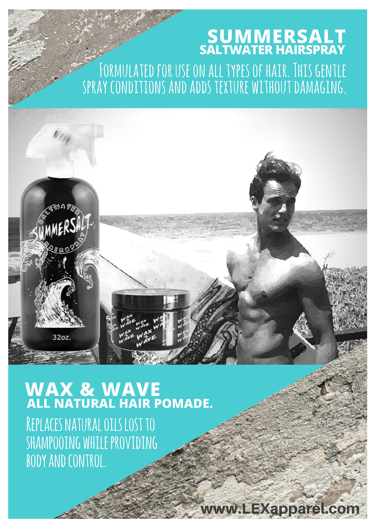 Wax & Wave All Natural Pomade