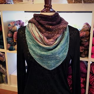 Gradient Shift Cowl by Kristen Stuart