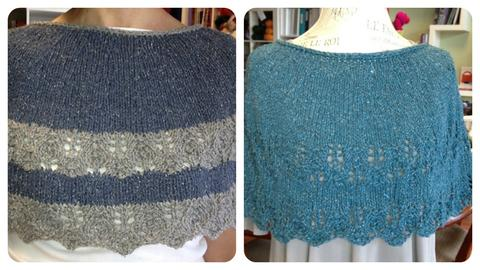 Rosebud Capelet by Debie Frable