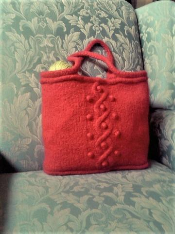 Serial Knitters Yarn Tote by Debie Frable