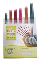 "Dreamz Symfonie Wood Double Pointed 6"" Sock Needle Set"
