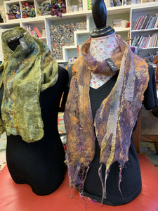 Nuno Felted Scarf Workshop with Alisha Goering