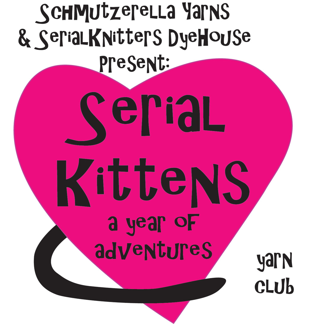 Serial Kittens Yarn Club
