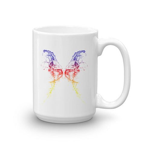 Butterfly Design Ceramic Mug - Eshopping Cart - 1