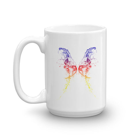 Butterfly Design Ceramic Mug - Eshopping Cart - 2