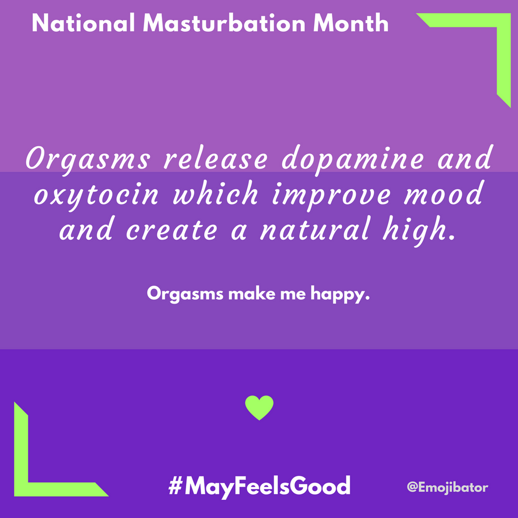 Masturbation Fact #6 - Can Orgasms Make You Happy?
