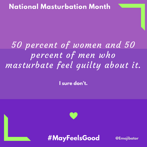 men women international masturbation month
