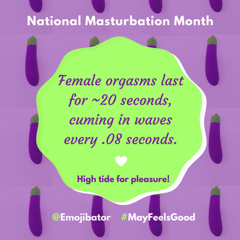 masturbation month female orgasms emojibator