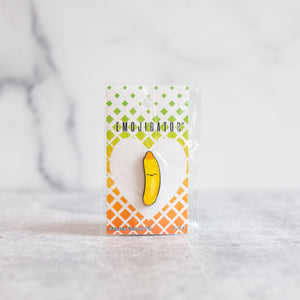 Adorable Banana Emojibator™ Pin