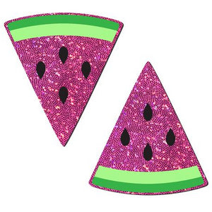 Watermelon Glitter Pasties