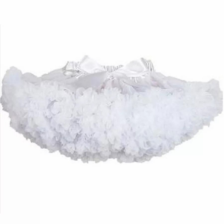 White Tutu Skirt - Adassa Rose