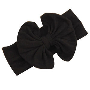Messy Bow Headband Light Pink Bow Headwrap - Adassa Rose