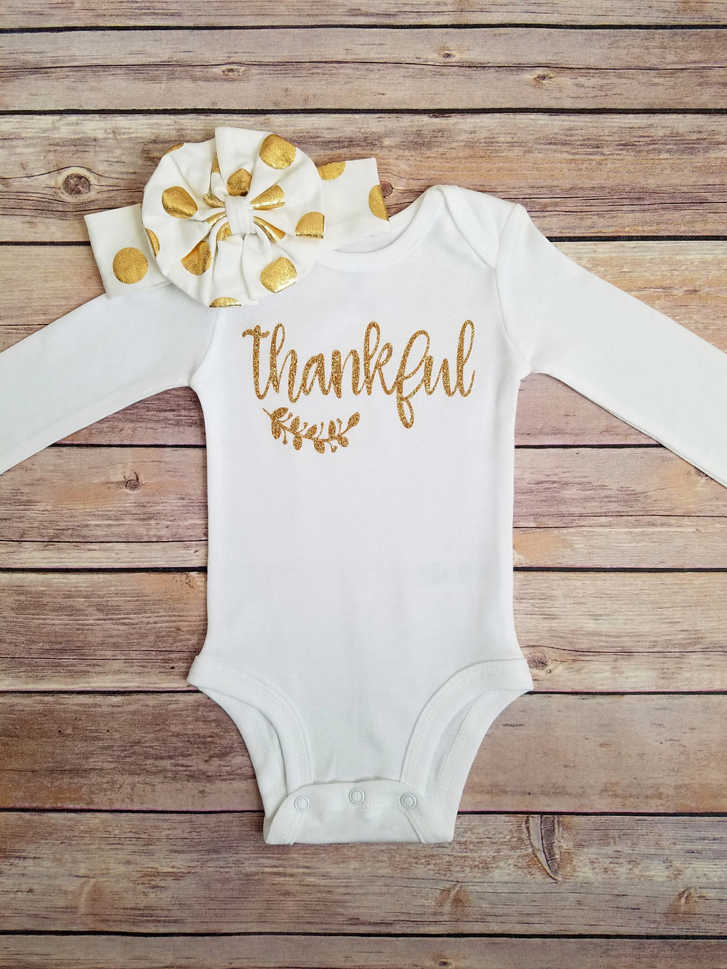 Thanksgiving Onesie Thanksgiving Day Outfit Girl - Adassa Rose