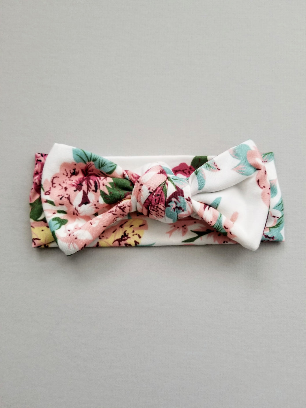 Scarlett Knotted Bow Headwrap - Adassa Rose