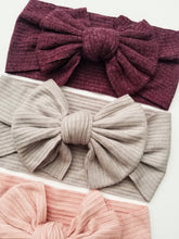 Load image into Gallery viewer, Layered Bow Headwrap - Adassa Rose