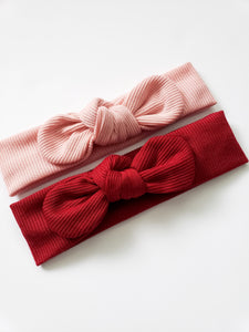 Ribbed Top Knot Headband | Baby Headband - Adassa Rose