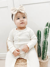 Load image into Gallery viewer, Morgan Taylor Bow Headwrap Baby Headwrap - Adassa Rose