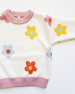 Daisy Sweater Girl