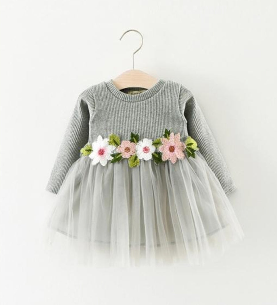 Bloom Tutu Dress - Adassa Rose