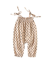 Load image into Gallery viewer, Sadie Polka Dot Romper - Adassa Rose