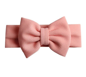 Emma Bow Headwrap Vintage Peach - Adassa Rose