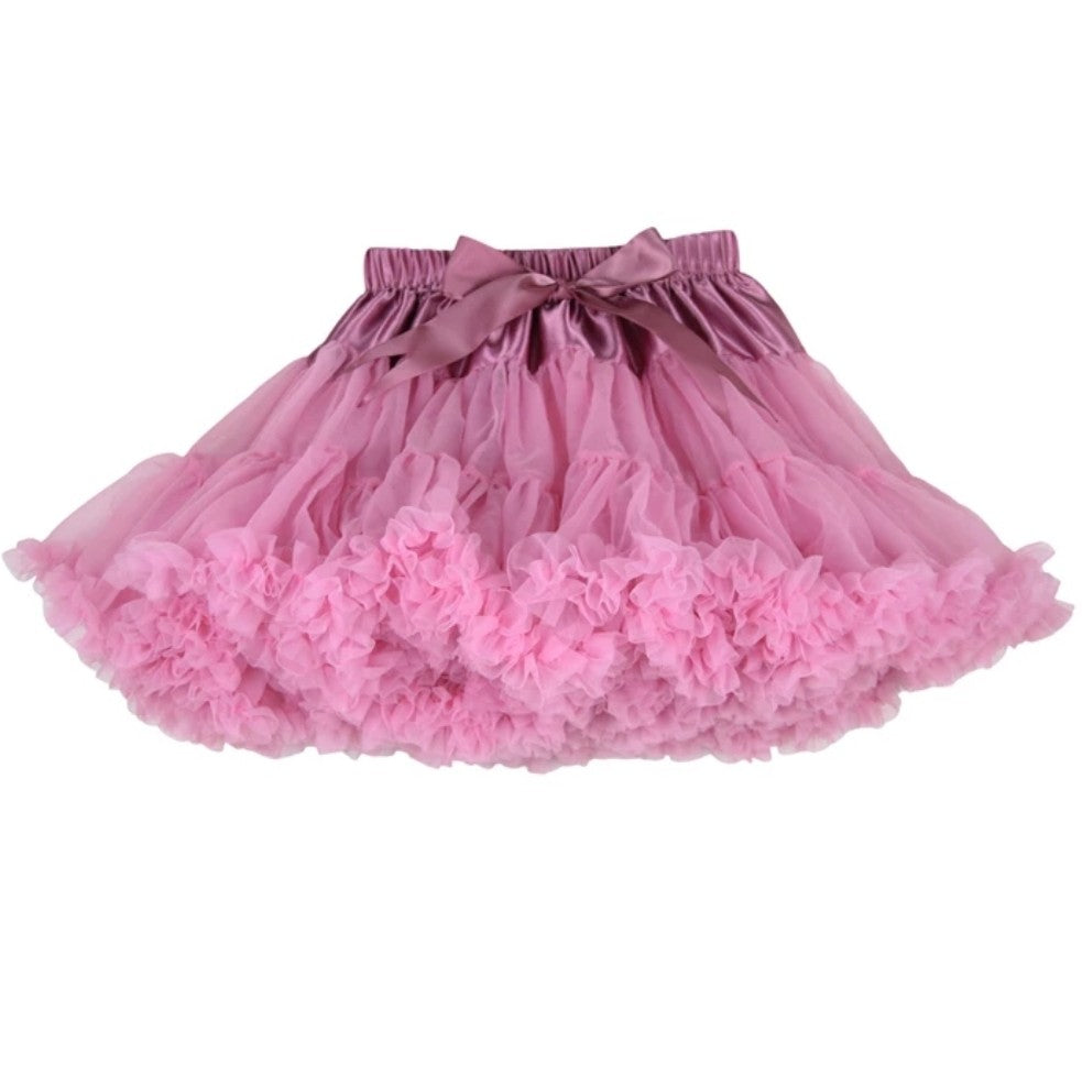 Rose Pink Tutu Skirt - Adassa Rose