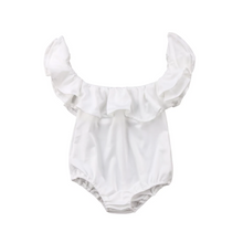 Load image into Gallery viewer, Lola Ruffle Romper - Adassa Rose