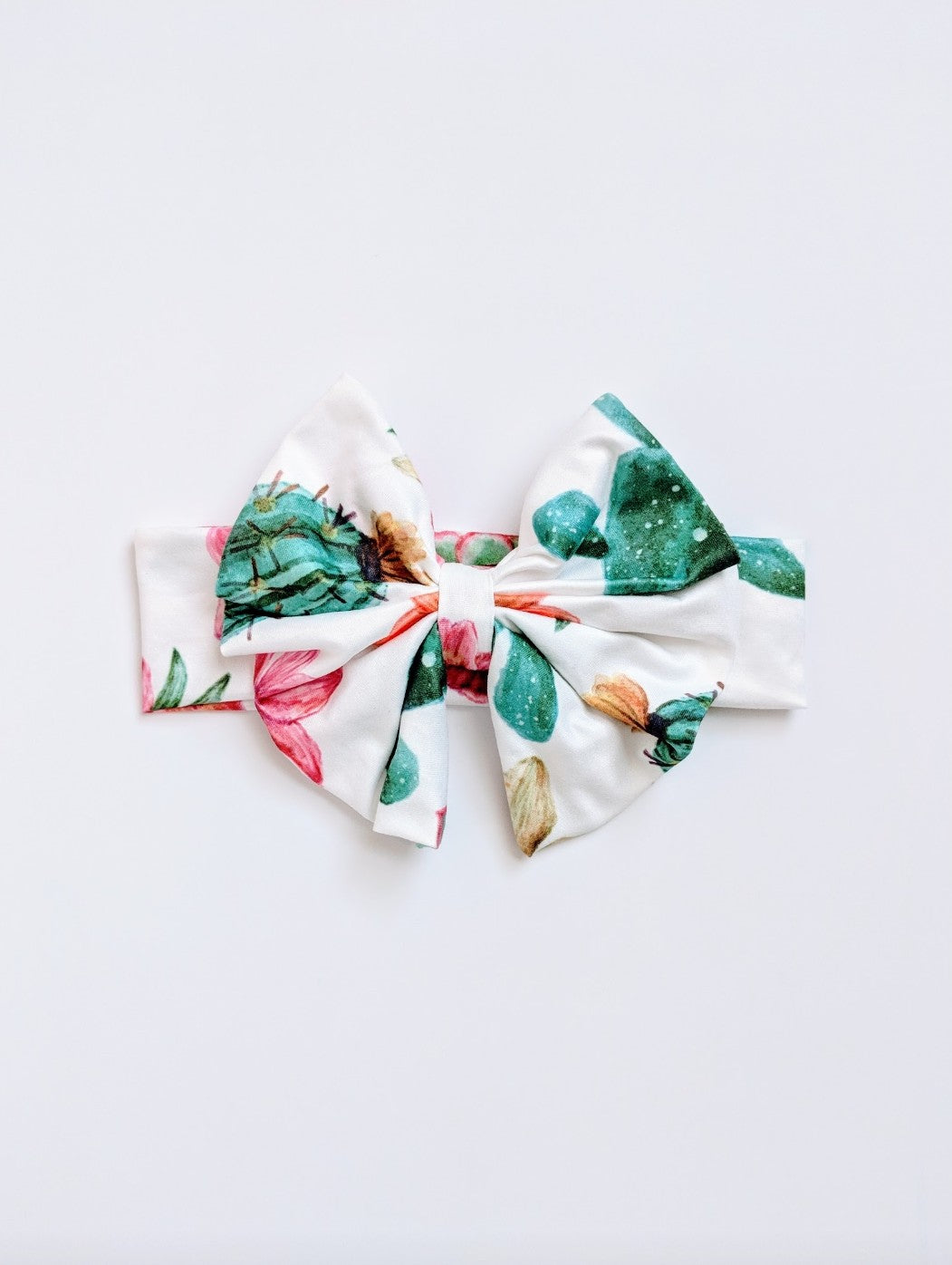 Sweet Catus Messy Bow Headwrap - Adassa Rose