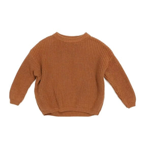 Chunky Knit Sweater Baby | Chestnut
