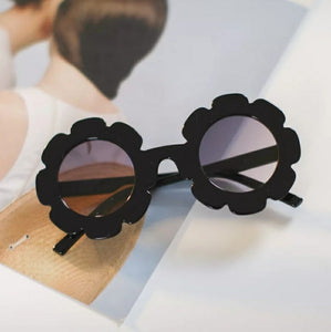 Flower Sunnies Kids Sunglasses | Black
