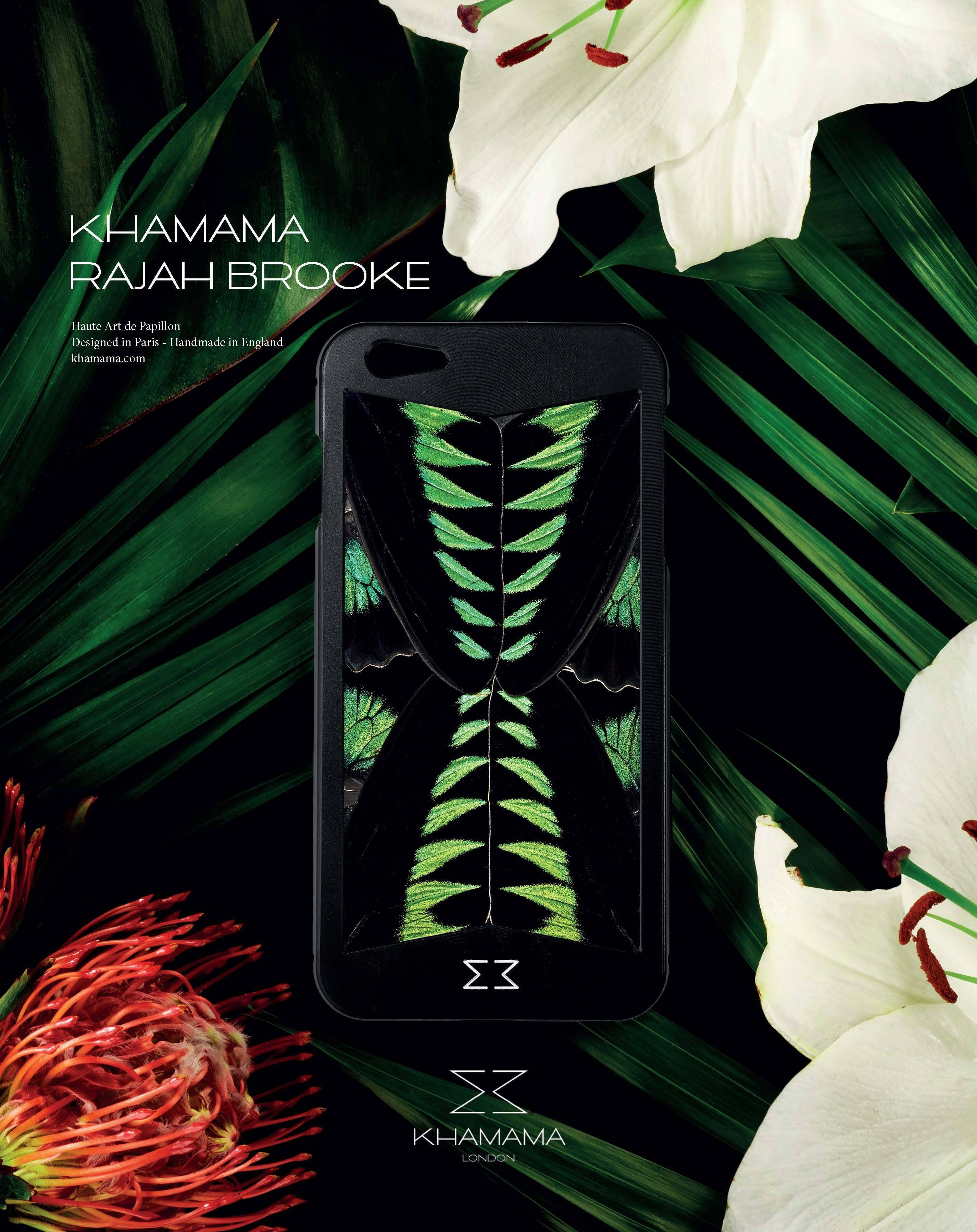 BASIC Magazine summer 2017, KHAMAMA Rajah Brooke iPhone case, press feature