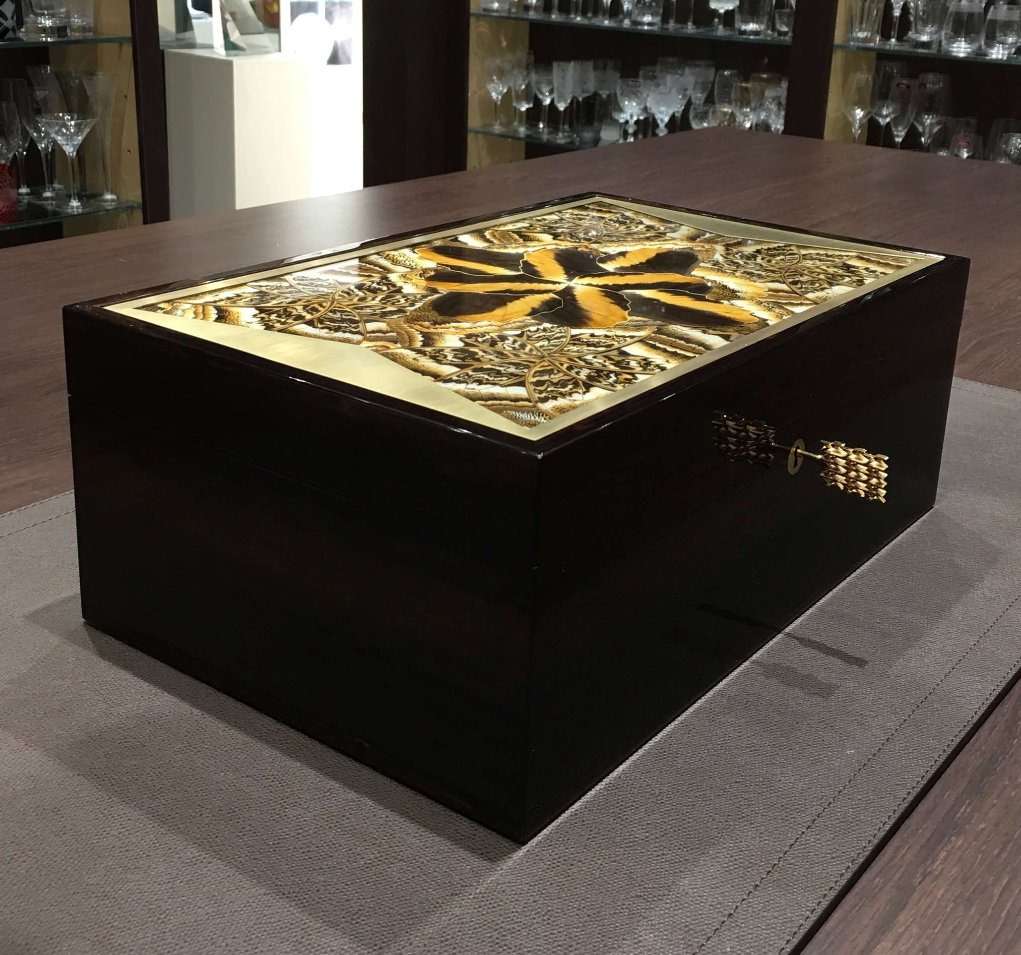 KHAMAMA Noctua Jewellery box