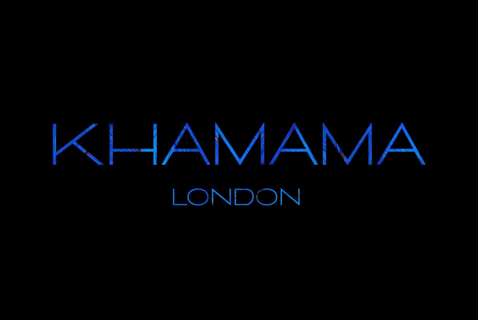 The Logo and the meaning of the luxury company KHAMAMA