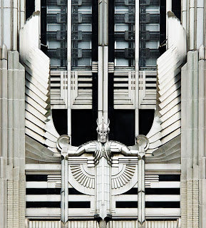 Art Deco architectural detail